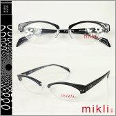 ミクリ mikli アランミクリ メガネ 眼鏡 ML1006-0001 ブラック セルフレーム サングラス BLACK GLASSES メンズ レディース あす楽 [★20]