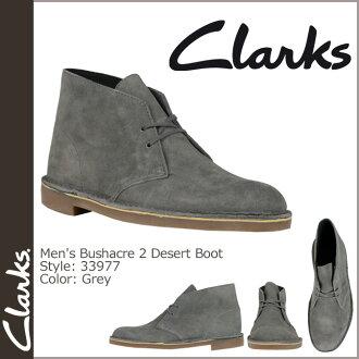 33977 Clarks CLARKS desert boots suede leather mens Desert Boot Bushacre 2