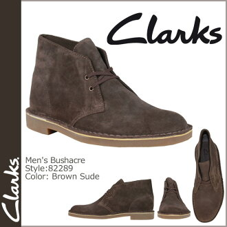 82289 2 kulaki CLARKS desert boots Desert Boot Bushacre suede leather men