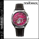 ニューヨーカー NEWYORKER 腕時計 43mm NY003-08 ウォッチ 時計 レッド TIMEPERSON メンズ [ あす楽対象外 ]