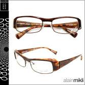 アランミクリ alain mikli メガネ 眼鏡 A0661 11 ブラウン セルフレーム メガネ サングラス メンズ レディース あす楽 [★20]