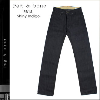 Rag & bone rag &bone denim M09RB1502 SLIM SHINY INDIGO cotton ladies