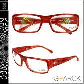 スタルクアイズ STARCK EYES アランミクリ メガネ 眼鏡 レッド RED-06 P0737 16 セルフレーム S+ARCK EYES alain mikli サングラス メンズ レディース あす楽