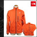 Free shipping the North face THE NORTH FACE zip up jacket [orange] S12SAYLC MEN DETONATOR JACKET nylon men [authorized comfort tomorrow]