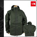 Free shipping the North face THE NORTH FACE mountain parka [dark olive] REARDON JACKET polyester men [authorized comfort tomorrow]