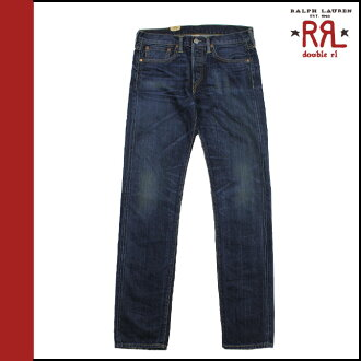 Double Aurel RRL DOUBLE RL Ralph Lauren vintage denim 4859287 RVSF straight VINTAGE STRAIGHT cotton ladies