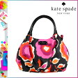 [SOLD OUT]送料無料 ケイトスペード kate spade トートバッグ [ ブラック×ピンク ] PXRU3599 013 GIZA ナイロン レディース [ 正規 あす楽 ]【□】