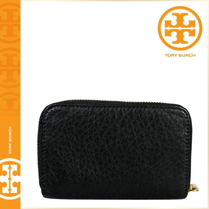 [SOLD OUT]送料無料 トリーバーチ TORY BURCH コインケース [ブラック] 21129004 001 KIPP ZIP CPIN CASE レザー レディースBLACK [ 正規 あす楽 ]