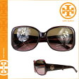 [SOLD OUT]送料無料 トリーバーチ TORY BURCH サングラス [ブラウン ピンク] TY7004 990 プラスティック レディースBROWN PINK [ 正規 あす楽 ]
