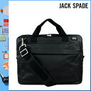 001 Jack spade JACK SPADE 2WAY briefcase [black] NYRU1151 SIERRA BRIEF coating canvas men gap Dis BLACK[5/2 Shinnyu loads] [authorized comfort free shipping tomorrow] [RCP] [繁]