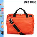 800 Jack spade JACK SPADE 2WAY briefcase [orange] NYRU1151 SIERRA BRIEF coating canvas men gap Dis ORANGE[5/2 Shinnyu loads] [authorized comfort free shipping tomorrow] [RCP] [繁]