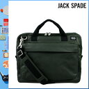 992 Jack spade JACK SPADE 2WAY briefcase [rifle green] NYRU1151 SIERRA BRIEF coating canvas men gap Dis RIFLE GRN[5/2 Shinnyu loads] [authorized comfort free shipping tomorrow] [RCP] [繁]