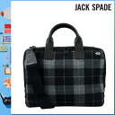 020 Jack spade JACK SPADE 2WAY briefcase [gray] NYRU1350 SLIM BRIEF wool men gap Dis GREY[5/2 Shinnyu loads] [authorized comfort free shipping tomorrow] [RCP] [繁]