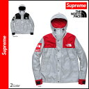 [5/3 Shinnyu load] [authorized comfort tomorrow] latest for free shipping シュプリーム Supreme X THE NORTH FACE mountain parka [black red] SS13J1 THE NORTH FACE REFLECTIVE MOUNTAIN JKT collaboration polyester men 2,013 years