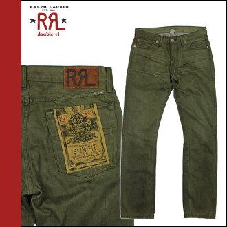 Men's doubles Aurel RRL DOUBLE RL Ralph Lauren denim jeans jeans slim