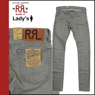 Women's doubles Aurel RRL DOUBLE RL Ralph Lauren denim jeans jeans skinny