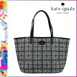[SOLD OUT]送料無料 ケイトスペード kate spade トート バッグ [ ブラック × クリーム ] WKRU 1692 003 カバン 鞄 [ 正規 あす楽 ]【□】