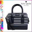 [SOLD OUT]送料無料 ケイトスペード kate spade 2WAY ミニ ボストン バッグ [ ネイビー × クリーム ] WKRU 2271 437 BAG カバン レディース [ 正規 あす楽 ]【□】