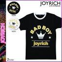 ジョイリッチ JOYRICH 半袖 Tシャツ TEE 2カラー BAD BOY CROWN T-SHIRT ティーシャツ メンズ レディース あす楽