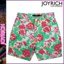ジョイリッチ JOYRICH ショートパンツ ハーフパンツ マルチ PALM ROSE SHORTS ショーツ メンズ