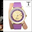送料無料 トリワ TRIWA 腕時計 [ パープルゴールド × パープル ] PURPLE GOLD NIBEN PURPLE TWIST CANVAS メンズ レディース ユニセックス NIST102 [ 正規 あす楽 ]