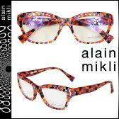 アランミクリ alain mikli メガネ 眼鏡 セルフレーム AL1033-3033 レッド クリア メンズ レディース あす楽