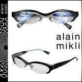 アランミクリ alain mikli メガネ 眼鏡 ブラック セルフレーム メンズ レディース あす楽 [★20]