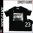[SOLD OUT]ポストゲーム POST GAME 半袖 Tシャツ ティーシャツ メンズ ラグラン 2014年 新作 ブラック MJ GOAT TEE [ 正規 あす楽 ]