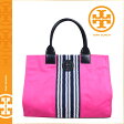 [SOLD OUT]送料無料 トリーバーチ TORY BURCH レディース トートバッグ 11139802 655 ブーゲンヴィレピンク CENTER STRIPE ELLA TOTE [ 正規 あす楽 ]