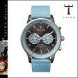 送料無料 トリワ TRIWA 腕時計 メンズ レディース ウォッチ 時計 レザー 2014年 新作 NEST103 グレー × ライトブルー WALTER NEVIL ユニセックス [ 正規 あす楽 ]
