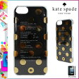 [SOLD OUT]送料無料 ケイトスペード kate spade レディース iPhoneケース 8ARU 0494 921 クリア×ゴールド LA PAVILLION CLEAR iPhone CASE 5/5S 対応 2015 FALL WINTER COLLECTION コレクションモデル [ 正規 あす楽 ]【□】