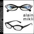 アランミクリ alain mikli メガネ 眼鏡 セルフレーム AL1213-0101 ブラック メンズ レディース