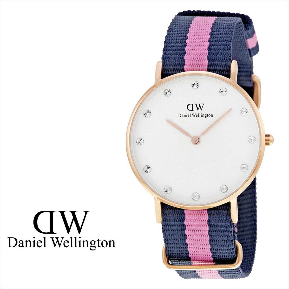 Daniel Wellington ダニエルウェリントン 34mm 腕時計 レディース  0952DW CLASSY WINCHESTER  ローズゴールド  送料無料  ダニエル ウェリントン Daniel Wellington 腕時計 34ミリ 正規  通販価格の適正さ
