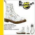[SOLD OUT]送料無料 ドクターマーチン Dr.Martens 1460 WOMENS 8ホール ブーツ [ ホワイト ] R11821112 PRINT レザー レディース メンズ 8EYE BOOTS [ 正規 あす楽 ]