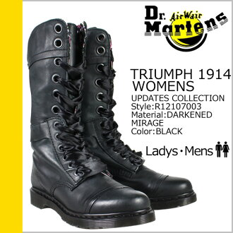 «Reservation products» «10 / 22 when I will be in stock» Martens Dr.Martens work boots R12107003 TRIUMPH 1914 WOMENS Leather Womens mens