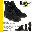 送料無料 ドクターマーチン Dr.Martens 8ホール ブーツ [ ブラック ] R14220001 NERO 8EYE BOOT スエード メンズ スウェード [ 正規 あす楽 ]【□】【ホワイトデー】