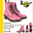 [SOLD OUT]送料無料 ドクターマーチン Dr.Martens 8ホール ブーツ [ ホットピンク ] R14638650 CLEMENCY 8EYE BOOT スムース レザー レディース HOT PINK [ 正規 あす楽 ]