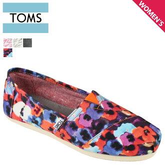 TOMS SHOES Toms shoes women's slip-on WOMEN's VEGAN CLASSICS vegans classic cotton Toms Toms shoes new 001026B 4 color [regular]