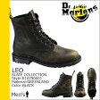 送料無料 ドクターマーチン Dr.Martens 8ホール ブーツ [ ブラック ] R14790001 LEO レザー メンズ [ 正規 あす楽 ]【□】【ホワイトデー】