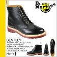 送料無料 ドクターマーチン Dr.Martens 7ホール ウイングチップブーツ [ ブラック×ブラック ] R15078001 BENTLEY レザー メンズ [ 正規 あす楽 ]
