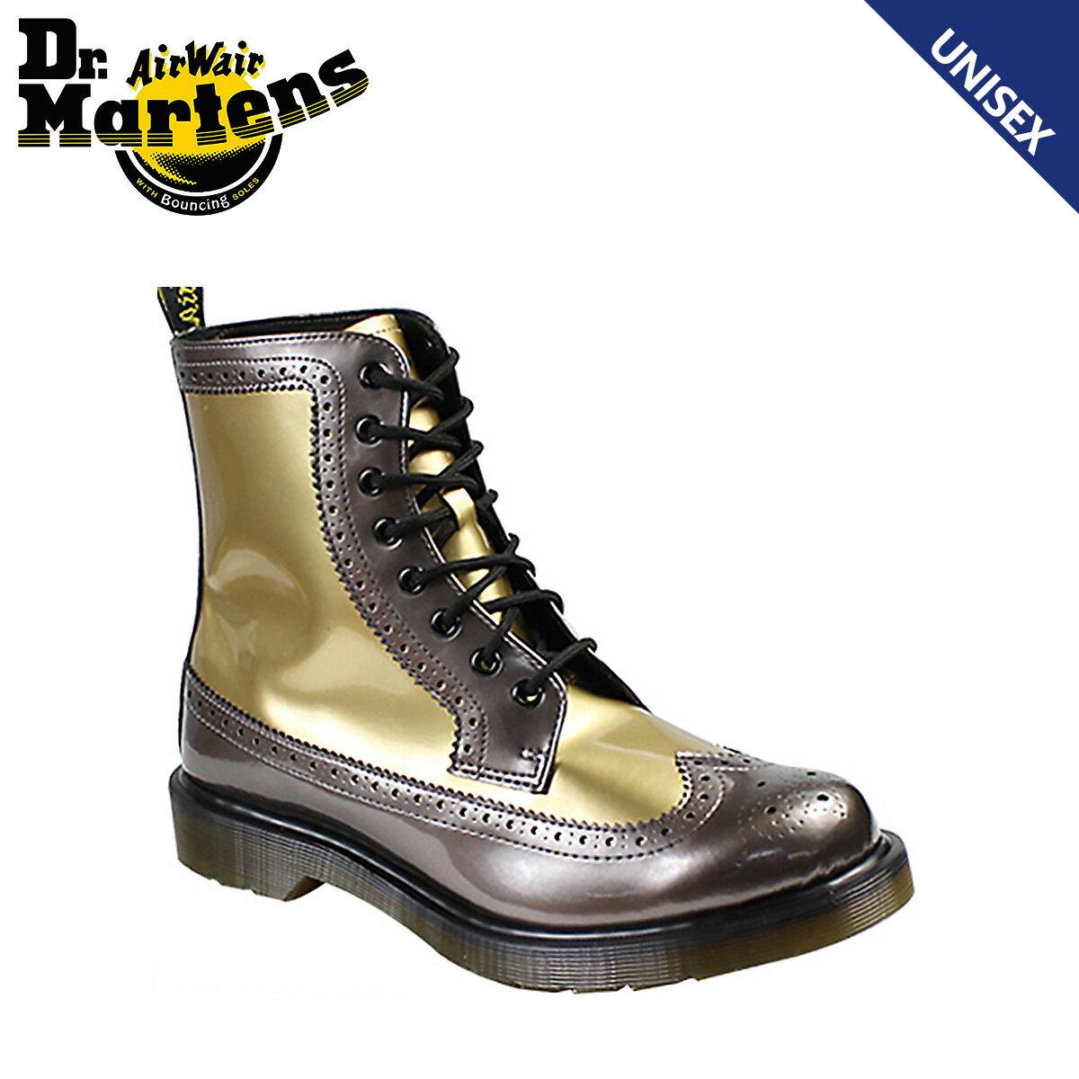 Dr.Martens ドクターマーチン 8ホール ウイングチップ ブーツ HARRIE R15286971 メンズ レディース