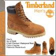 送料無料 ティンバーランド Timberland 6インチ プレミアム ウォータープルーフ ブーツ 6inch Premium Waterproof Boot ヌバック メンズ 6768R コグナック [1/9 追加入荷][ 正規 あす楽 ]【バレンタイン】【P】