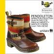 送料無料 ドクターマーチン Dr.Martens ペンドルトン R15851230 エンジニア ブーツ [ タン × ベージュ ] PENDLETON レザー×ウール メンズ レディース ユニセックス [ 正規 あす楽 ]【□】【ホワイトデー】