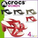 送料無料 クロックス crocs レディース ウィメンズ サイプラス 4 ヒール [ 4カラー ] WOMEN'S CYPRUS 4 HEEL クロスライト サンダル アウトドア 14558 [ 正規 あす楽 ]