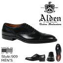 ALDEN オールデン オックスフォード シューズ MEDALLION TIP BAL OXFORD Dワイズ 909 メンズ