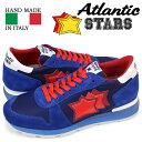 Atlantic STARS SIRIUS アトランティックスターズ メンズ スニーカー ブルー レッド シリウス MN 83B 靴 [185]