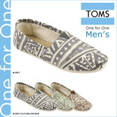 TOMS SHOES トムズ シューズ スリッポン MEN'S SEASONAL CLASSICS トムス トムズシューズ メンズ