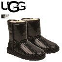 [SOLD OUT]UGG アグ キッズ クラシック ショート ムートンブーツ KIDS CLASSIC SHORT SPARKLES 1004885YK シー...