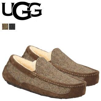 UGG UGG 男士駿景莫卡辛滑鞋男裝駿景花呢 1005347 1008305 粗花呢