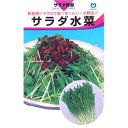 水菜 種 【 サラダ水菜 】 種子 小袋(約8ml) ( 種 野菜 野菜種子 野菜種 )